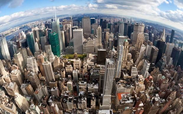 """Hutan beton"" kota New York"