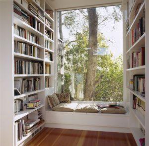 Reading nook nyaman