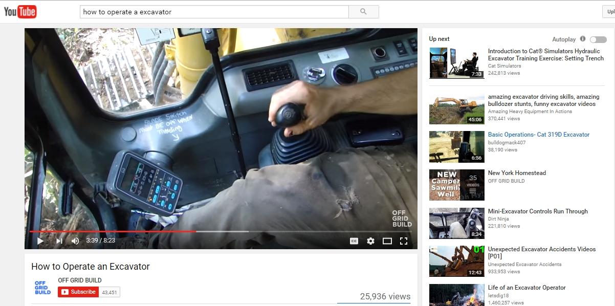 Video alat berat