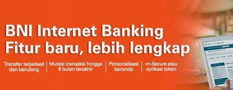 BNI internet banking yang memudahkan