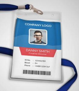 Elemen penting ID card - kartu pengenal karyawan
