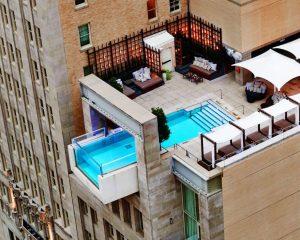 Joule Hotel pool