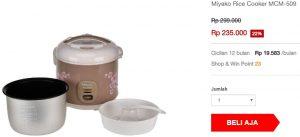 Rice cooker wajib punya