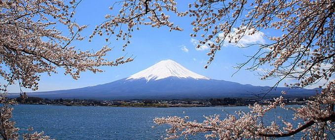 Gunung Fuji yang menawan