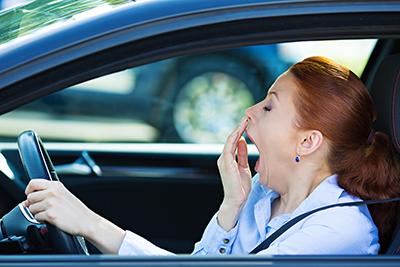 Lelah saat menyetir mobil