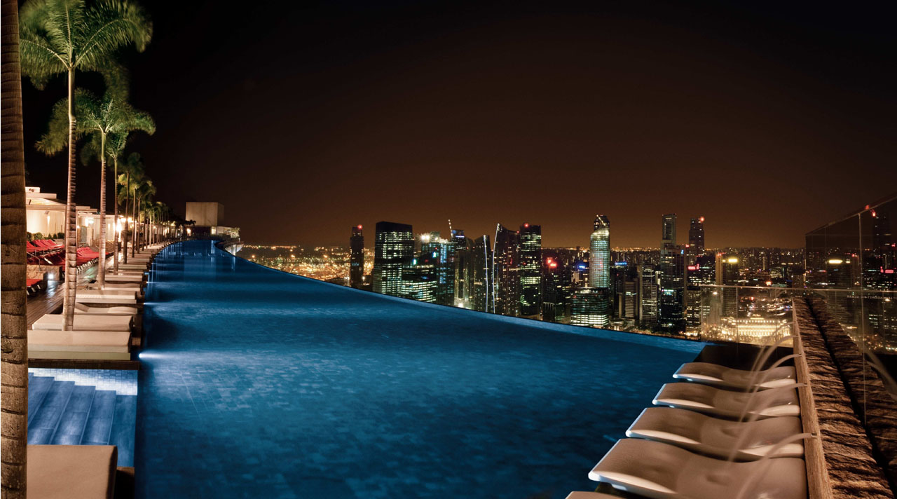 Marina Bay Sands Skypark Pool