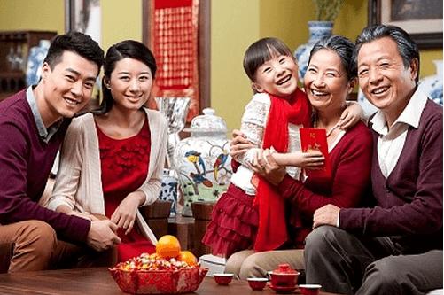 Imlek bersama keluarga