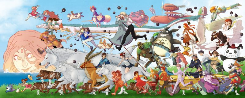 Ghibli all character