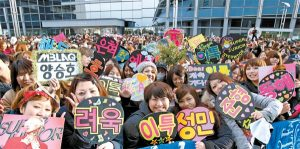 Kelakukan fans Kpop