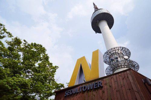 Namsan Tower, Seoul, Korea Selatan