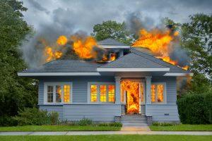 Penyebab kebakaran rumah