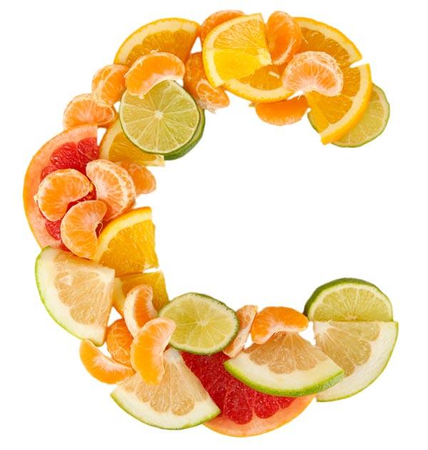 Buah jeruk sumber vitamin C