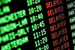 langkah saat pesawat delay