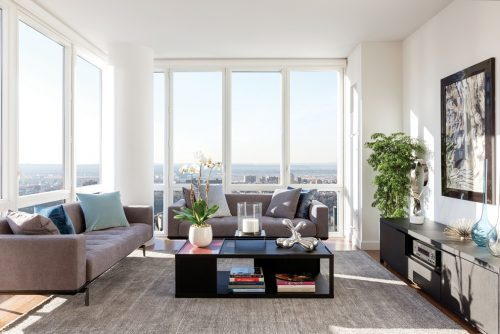 Ruangan apartemen yang nyaman