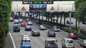 Sistem jalan di Singapura