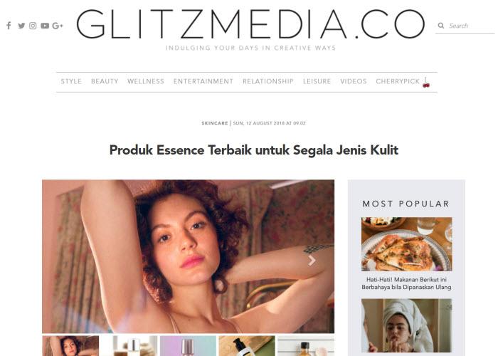 Artikel di Glitzmedia.co, Portal Online Khusus Perempuan Indonesia