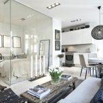Sekat Kaca untuk Alternatif Interior Apartemen Mungil