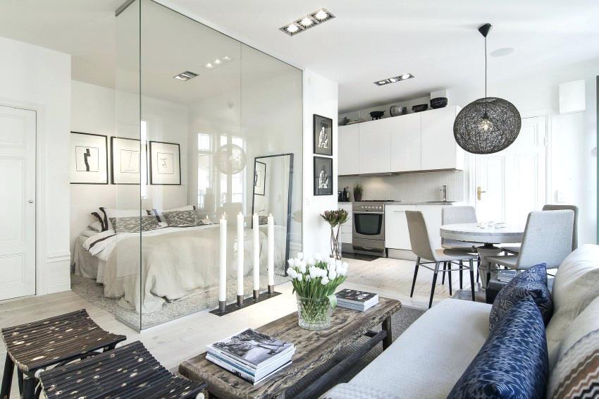 sekat kaca untuk apartemen