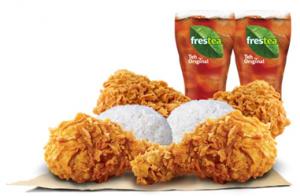Promo Burger King, Paket Berdua