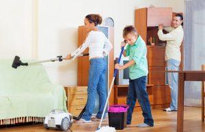 membersihkan rumah dengan efektif