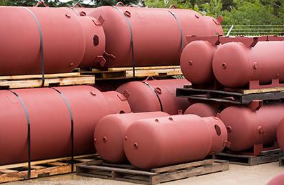 Pressure tank minyak bumi