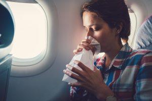 Mual di pesawat