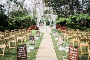 Rustic dan Garden Wedding