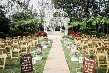 Rustic dan Garden Wedding