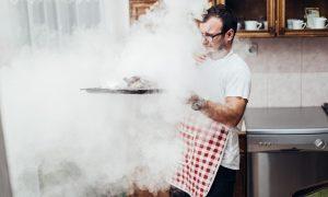 cara menghilangkan bau masakan