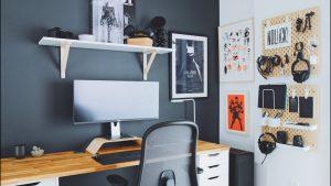 membangun ruang kerja