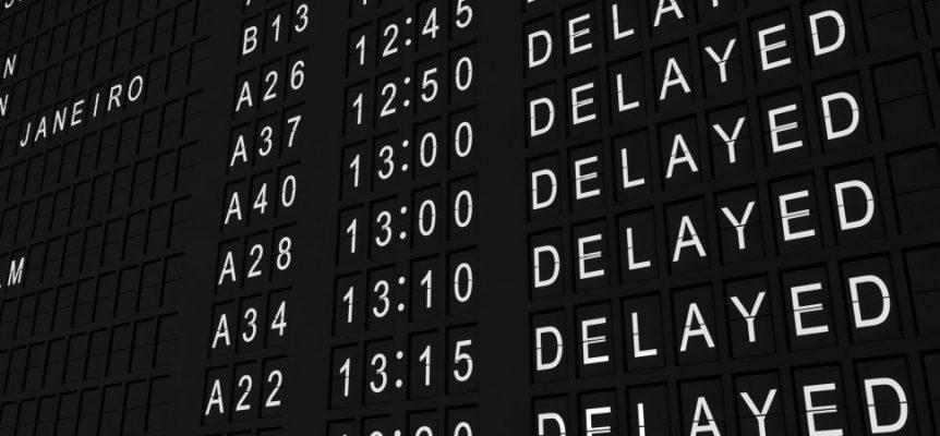 penyebab penerbangan delay