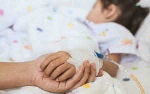 anak dirawat di rumah sakit