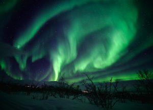travel virtual Aurora borealis