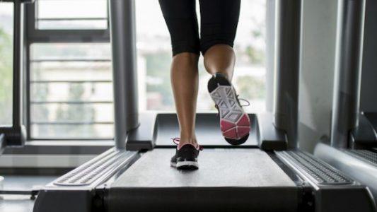 lari di treadmill