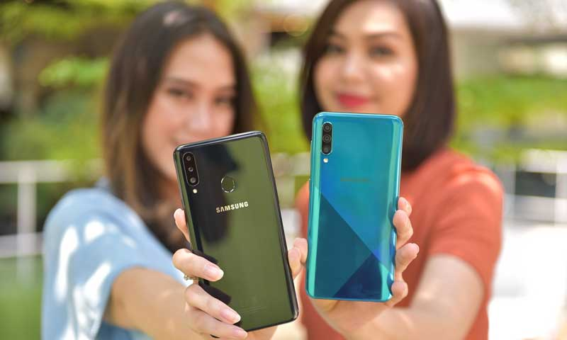 Samsung a20s Miliki Triple Camera